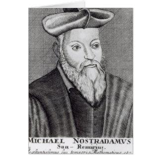 Michel Nostradamus Card