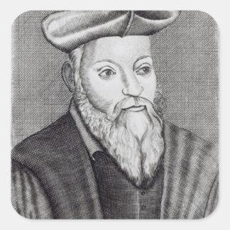 Michel Nostradamus Square Sticker