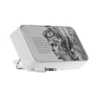 Michelangelo- Allegorical figure Notebook Speakers