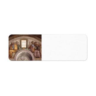 Michelangelo: Ancestors of Christ: Jacob, Joseph Labels