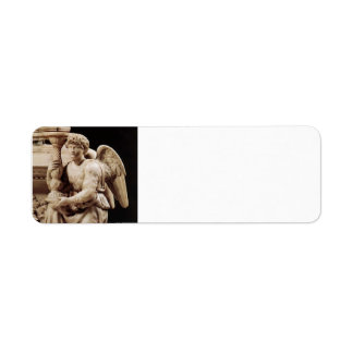 Michelangelo- Angel with Candlestick Custom Return Address Labels