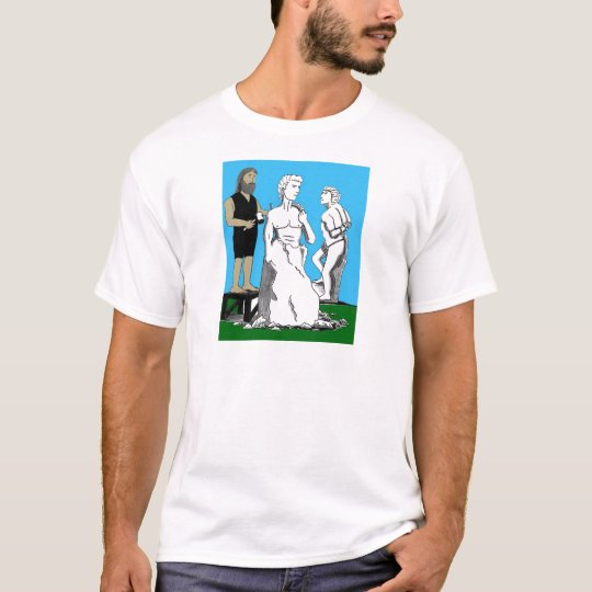 Michelangelo Carving David T-Shirt
