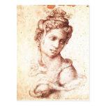 Michelangelo- Cleopatra Post Card