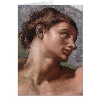 Michelangelo Creation of Adam Card
