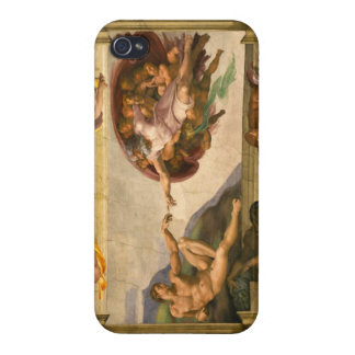 Michelangelo Creation of Adam Case For iPhone 4