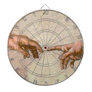 Michelangelo Creation of Adam Dartboard