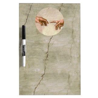 Michelangelo Creation of Adam Dry Erase Board