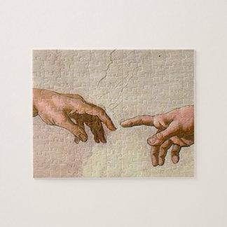 Michelangelo Creation of Adam Jigsaw Puzzle