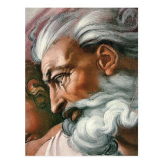Michelangelo Creation of Adam Postcard