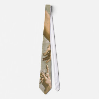 Michelangelo Creation of Adam Tie