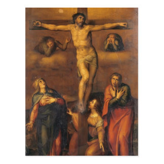Michelangelo- Crucifixion Postcard
