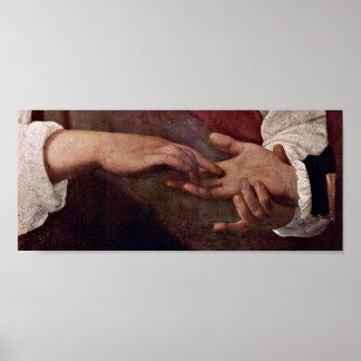 Michelangelo da Caravaggio - The Fortune Teller Poster