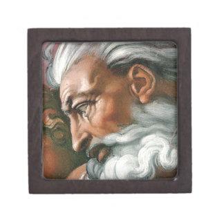 Michelangelo God in the Creation of Adam Premium Jewelry Box