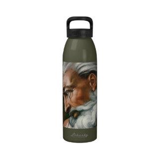 Michelangelo God in the Creation of Adam Drinking Bottle