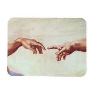 Michelangelo Hands Magnet