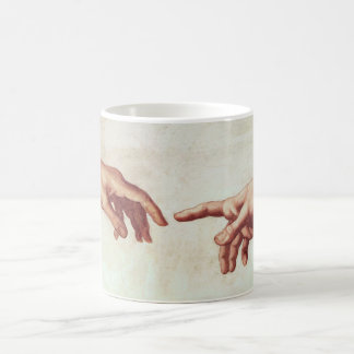 Michelangelo Hands Mug