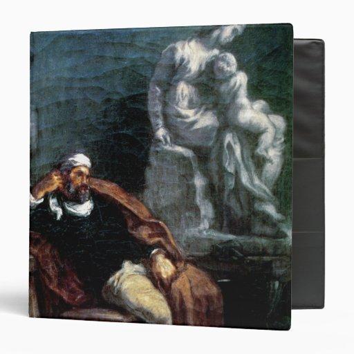 Michelangelo  in his Studio 3 Ring Binder