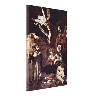 Michelangelo Merisi da Caravaggio - Nativity Canvas Print