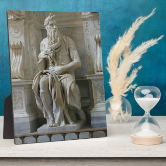 Michelangelo- Moses Photo Plaque