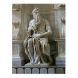 Michelangelo- Moses Post Card