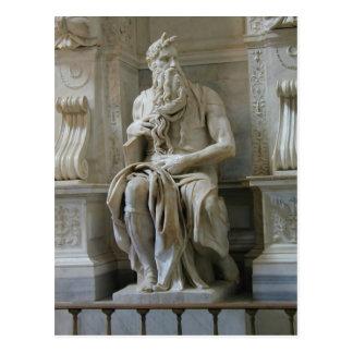 Michelangelo- Moses Postcard