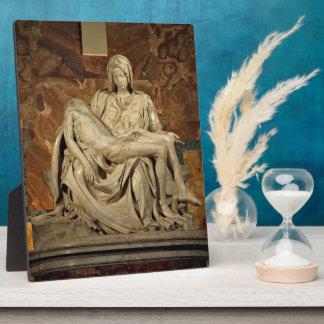 Michelangelo- Pieta Display Plaque