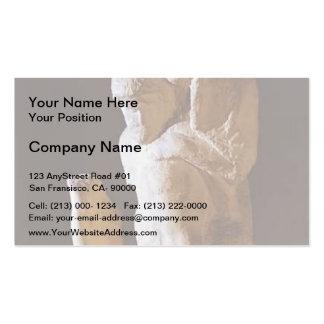 Michelangelo- Pieta Rondanini (unfinished) Business Card Template