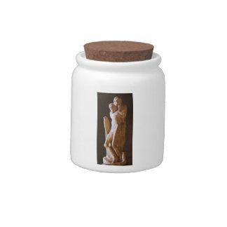 Michelangelo- Pieta Rondanini (unfinished) Candy Jar