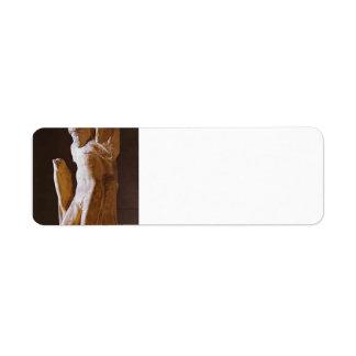 Michelangelo- Pieta Rondanini (unfinished) Return Address Labels
