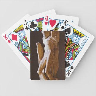 Michelangelo- Pieta Rondanini (unfinished) Poker Cards