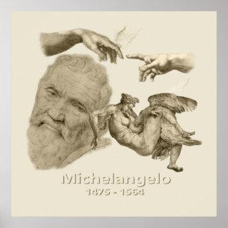 Michelangelo Posters
