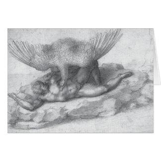 Michelangelo Renaissance Art Card