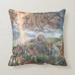 Michelangelo Renaissance Art Pillow