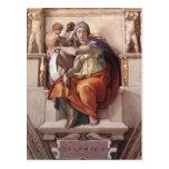 Michelangelo Renaissance Art Post Card