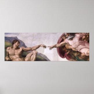 Michelangelo Renaissance Art Poster