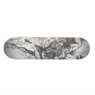 Michelangelo Renaissance Art Skateboard
