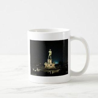 Michelangelo Square Coffee Mug