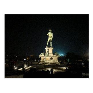 Michelangelo Square Postcard