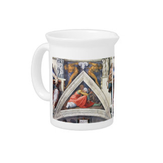 Michelangelo: The Ancestors of Christ: Asa Drink Pitcher