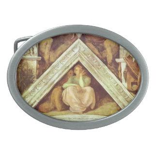 Michelangelo: The Ancestors of Christ: Jesse Oval Belt Buckles
