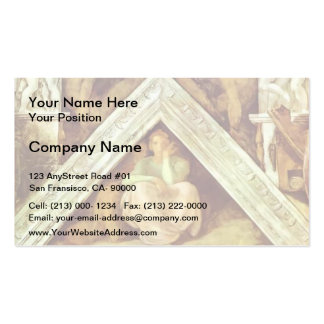 Michelangelo: The Ancestors of Christ: Jesse Double-Sided Standard Business Cards (Pack Of 100)
