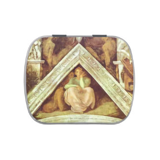 Michelangelo: The Ancestors of Christ: Jesse Jelly Belly Tins