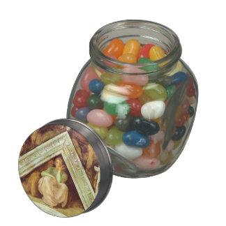 Michelangelo: The Ancestors of Christ: Jesse Glass Candy Jars