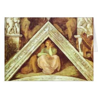 Michelangelo: The Ancestors of Christ: Jesse Greeting Card