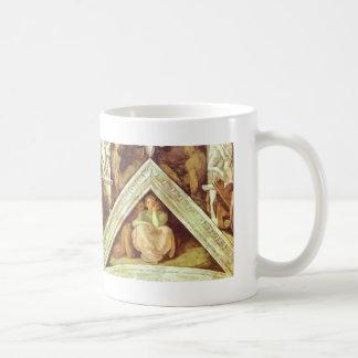 Michelangelo: The Ancestors of Christ: Jesse Classic White Coffee Mug
