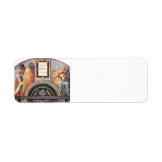 Michelangelo: The Ancestors of Christ Return Address Labels