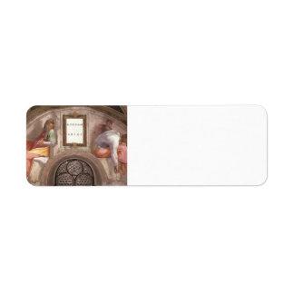 Michelangelo: The Ancestors of Christ: Rehoboam Return Address Labels
