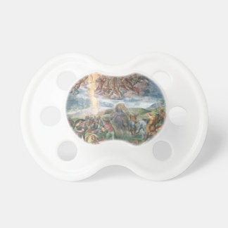 Michelangelo- The Conversion of Saul Baby Pacifier