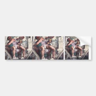 Michelangelo: The Prophet Jonah Bumper Sticker