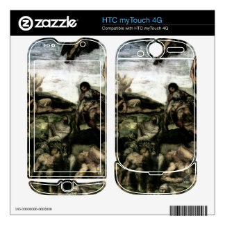 Michelangelo Unterberger - Resurrection of the dea Skins For HTC myTouch 4G